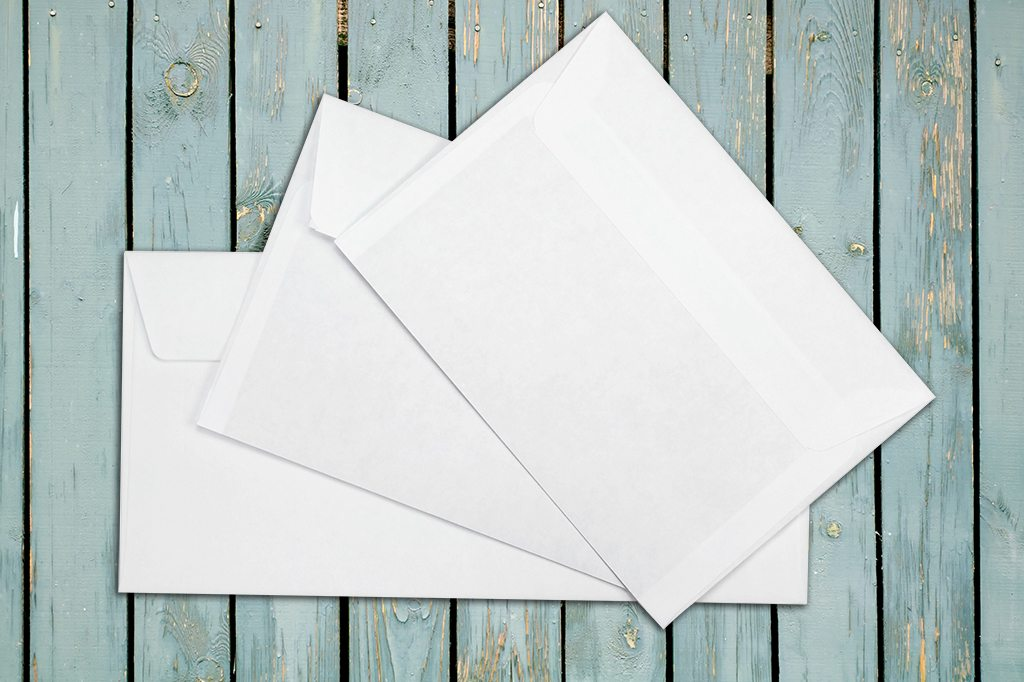 Funeral order of service and cards envelopes