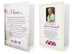 Bespoke Memorial Cards